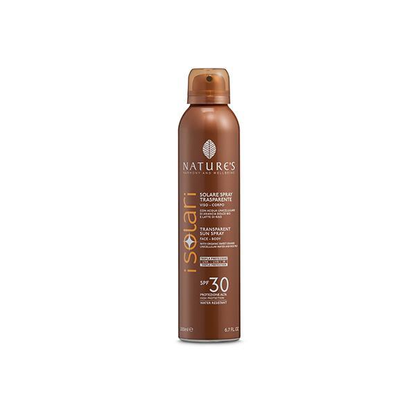 La protezione alta SPF 30 è indicata per le carnagioni chiare e per pelli delicate.